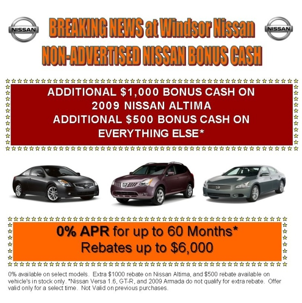 New nissanprices