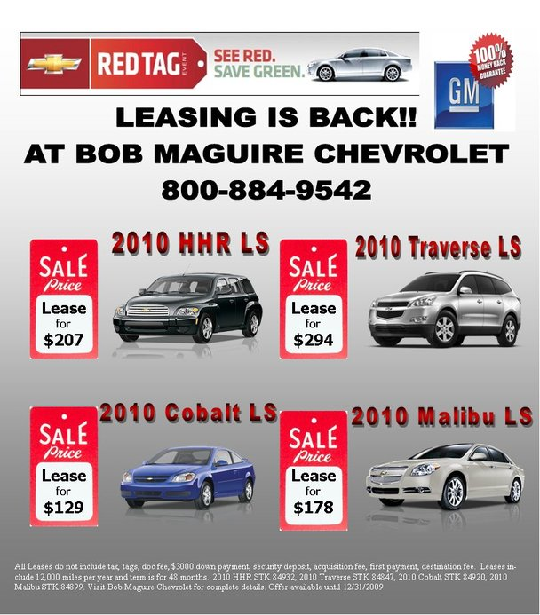 Chevrolet Red Tag Sale-December Deals