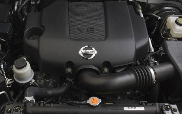 2010 Pathfinder Engine