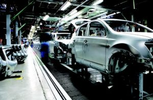 Nissan Production Plant