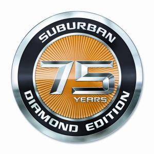 75 Year Anniversary Suburban
