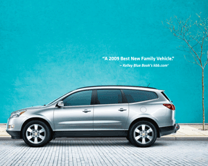 2010 Chevy Traverse, Best New Family Vehicle