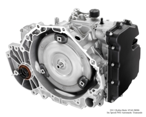 2010 Hydra-Matic 6T40 (MH8) Six Speed FWD Automatic Transaxle