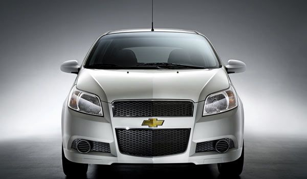 2010 Chevrolet Aveo Front View