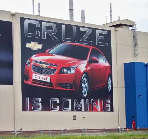 Lordstown Plant Announcement of Cruze