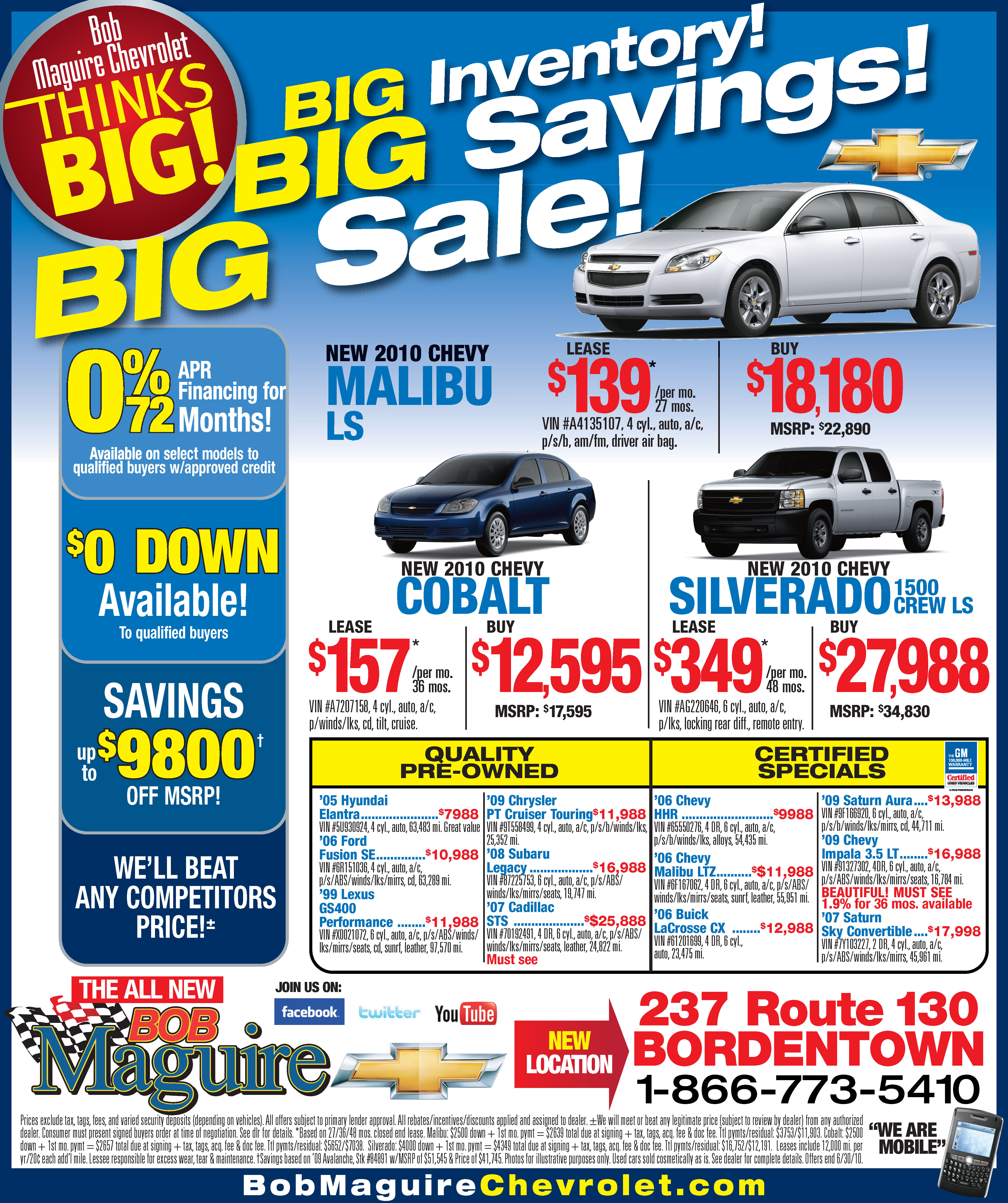 Sales Event | The Maguire Auto Blog