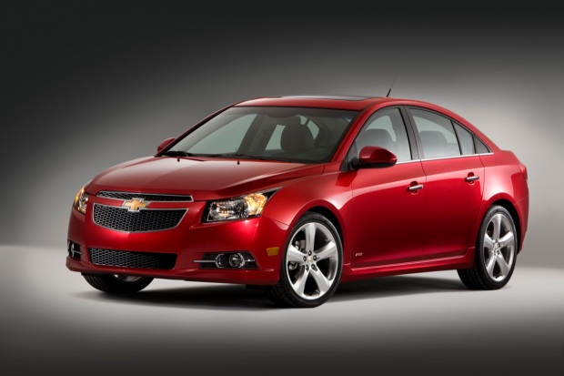The Chevrolet Cruze is Named Urban Car of the Year