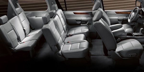 2011 Nissan Armada Interior Features The Maguire Auto Blog