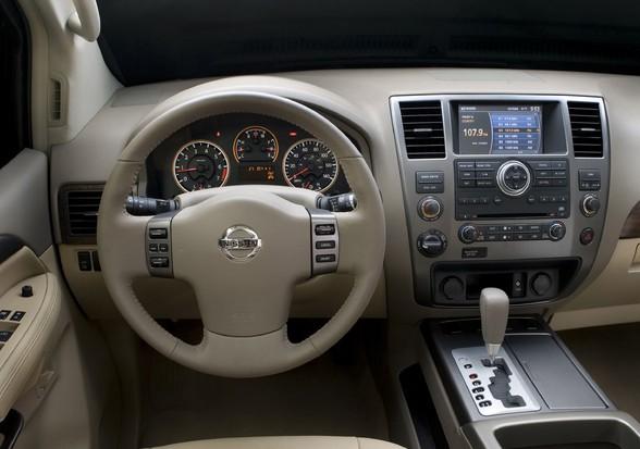 2011 Nissan Armada Interior Features The Maguire Auto Blog