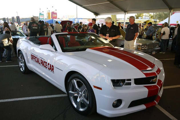 Chevrolet Camaro Ss Convertible Indianapolis 500 Pace Car 2011 The