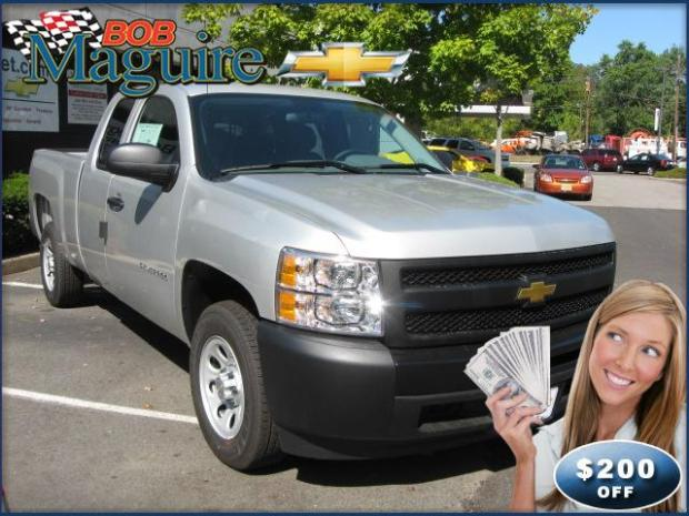 Model Year End Wrap Up Event = HUGE Savings on the Chevy Silverado 1500 at Bob Maguire Chevrolet