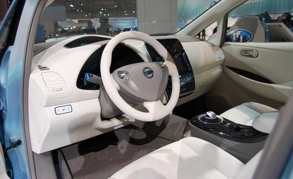 Nissan Leaf at Windsor Nissan in East Windsor, NJ
