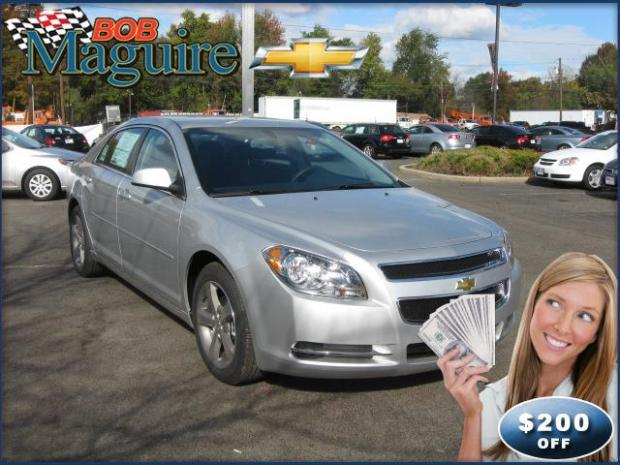 The 2011 Chevy Malibu at Bob Maguire Chevrolet