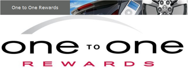 One to One Rewards Program at Windsor Nissan