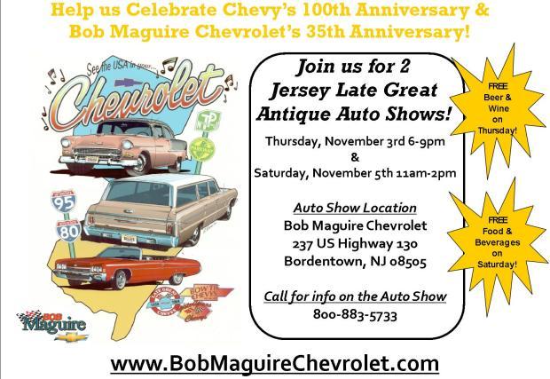 Antique Auto Show at Bob Maguire Chevrolet