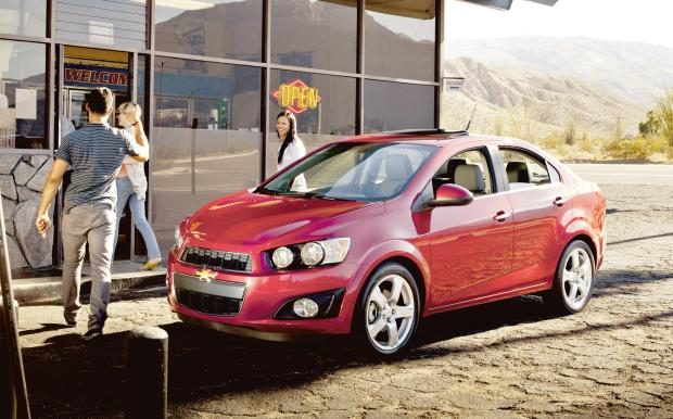 All-New 2012 Chevrolet Sonic Now Available at  Bob Maguire Chevrolet