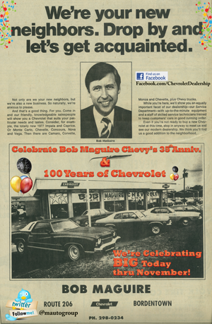 Bob Maguire Chevrolet Celebrates its 35th Anniversary