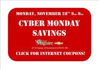 cyber monday savings banner bmc