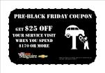 pre black friday service coupon