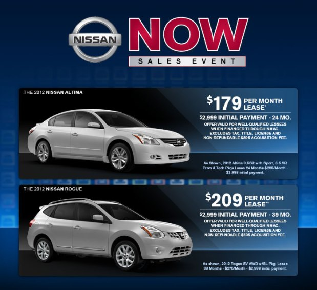 Nissan's NOW Sales Event at Windsor Nissan