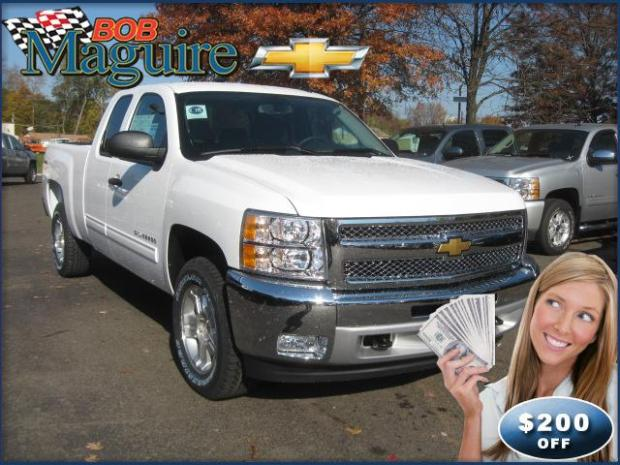 2012 Silverado 1500 Review from Bob Maguire Chevrolet