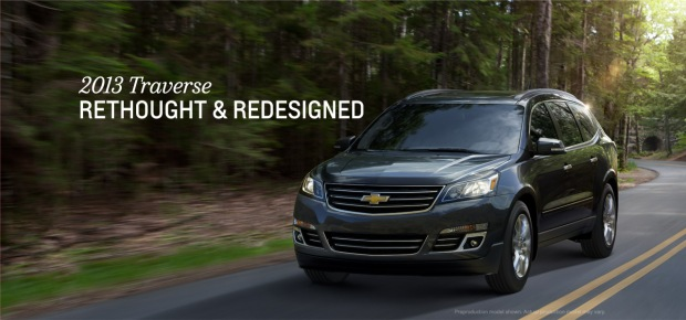 2013 Traverse at Bob Maguire Chevrolet