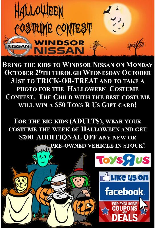 Halloween Costume Contest at Windsor Nissan!