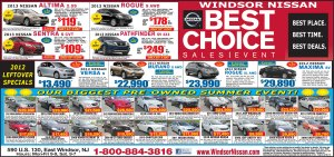 Exclusive Windsor Nissan June Sale