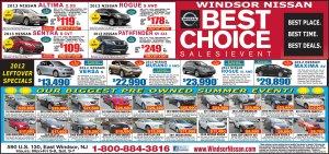 Exclusive Windsor Nissan June Sale