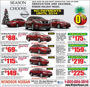 Windsor Nissan Holiday Sale
