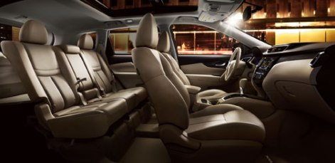 2014 Nissan Rogue Interior Styling and Profile