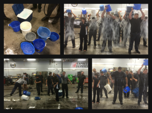 The Ice Bucket Challenge at Windsor Nissan